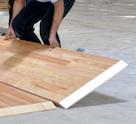lantai kayu portable
